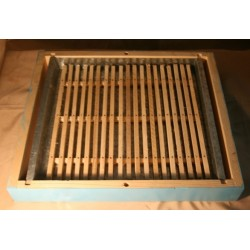 Tray bee feeder for...