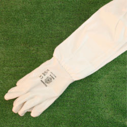 Latex protection gloves