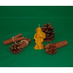 Lumanare figurina Mos Craciun